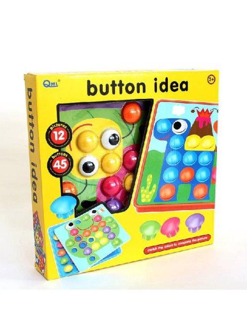 3198 - Друштвена игра Различни идеи со копчиња
