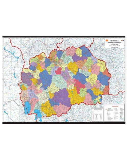 Г003 - Република Македонија административна поделба