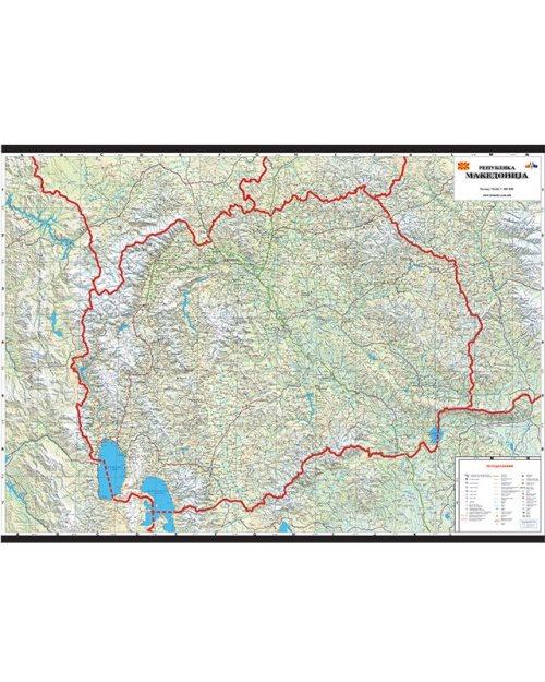 Г004 - Република Македонија патна карта