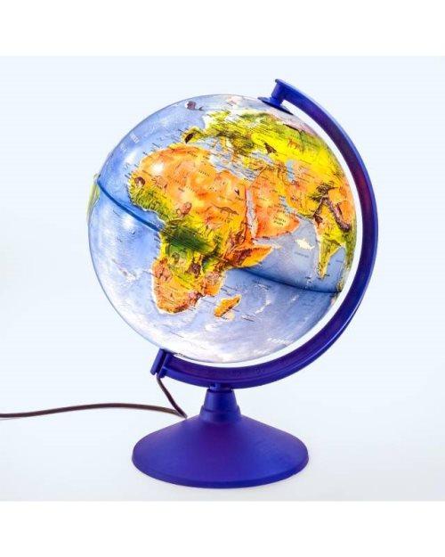 Г056 - Светлечки глобус детски ЗОО голем