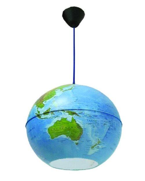 Г059 - Светлечки глобус физичко-политички светилка-ламба
