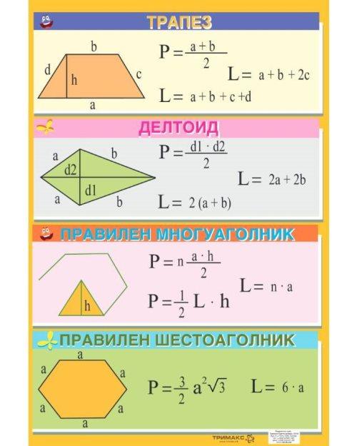 МП021 - Трапез делтоид многуаголник