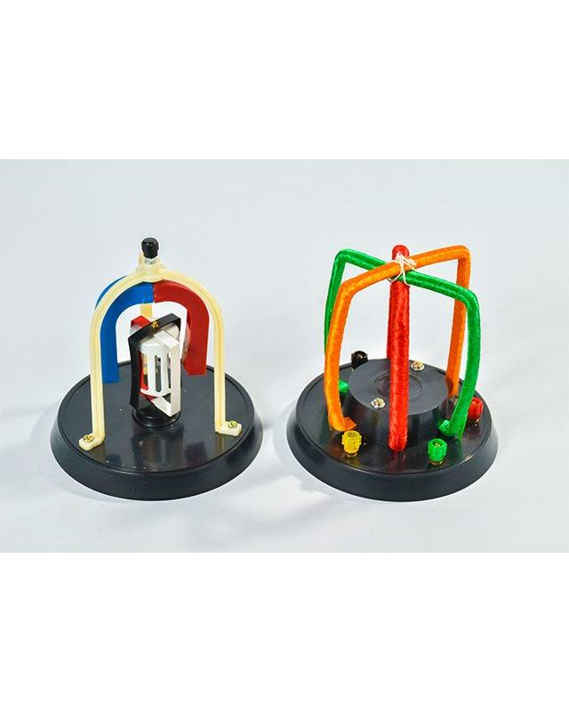 Ф018 - Работен принцип на трофазен генератор