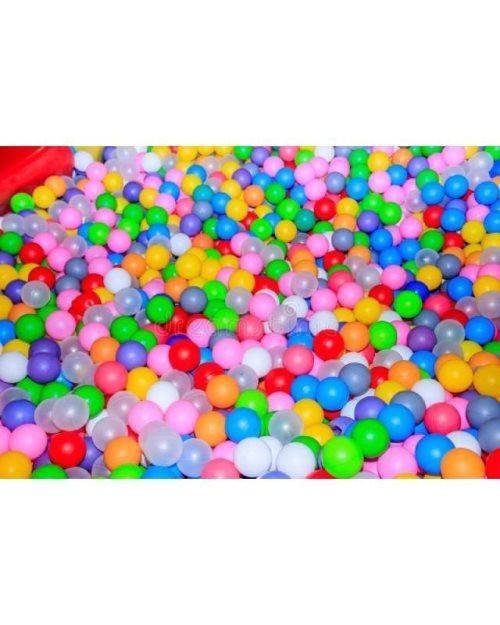 RB012-Разнобојни топки за во сув базен