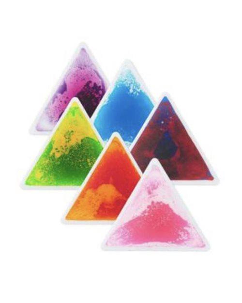 RL003 -1 - Подлога со течност во форма на триаголник - мала
