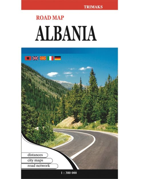 Албанија патна карта - 4