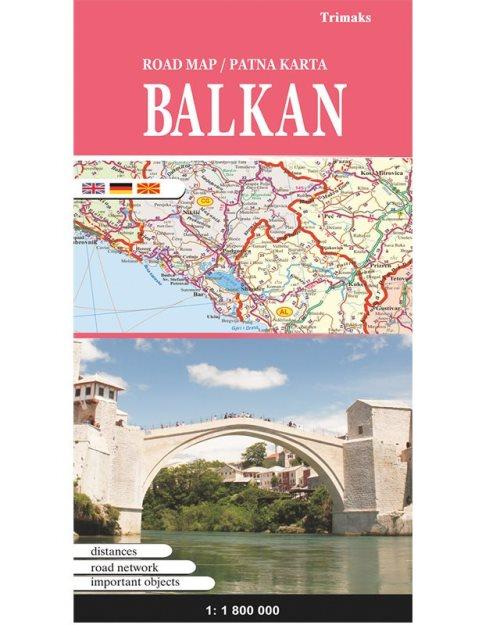 Балкан патна карта - 5