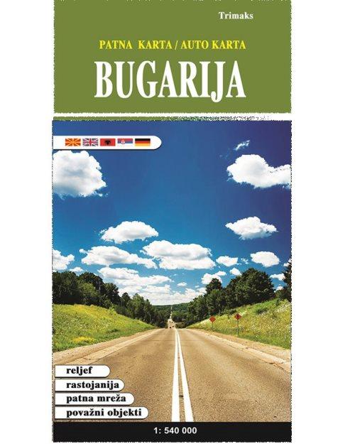 Бугарија патна карта - 11