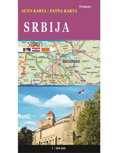 Србија патна карта - 56