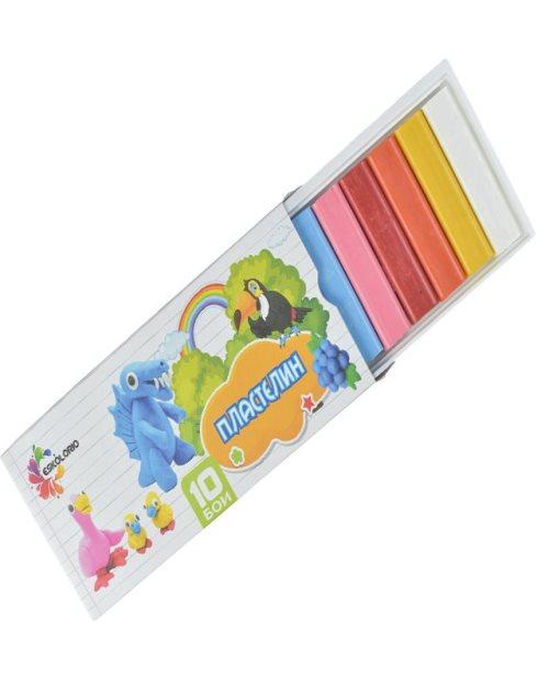 Пластелин Есколорио 10 бои - 9524