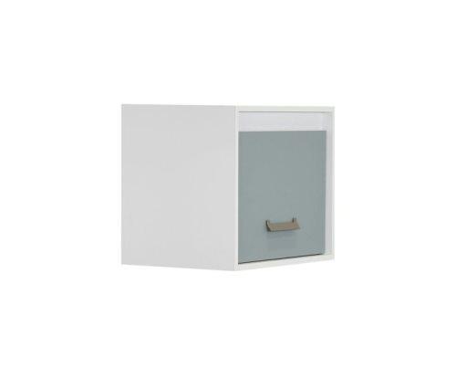 Киндер висечка полица 1В бела