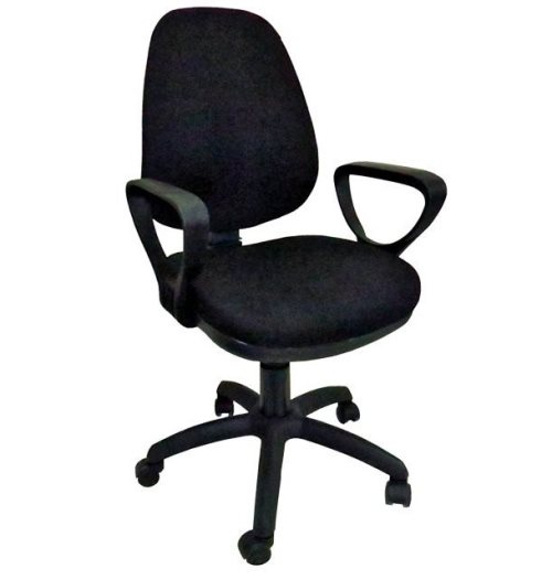 Компјутерски стол СХ 117 со раконаслони